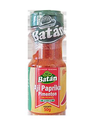 pimenton-frasco-molido-paprika-emaran-batan-condimentos-sazonadores-batan-especies naturales-condimentos agroindustriales