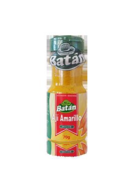 ají-amarillo-molido-frasco-polvo-emaran-batan-condimentos-sazonadores-batan-especies naturales-condimentos agroindustriales