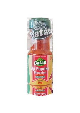 aji-paprika-pimenton-frasco-emaran-batan-condimentos-sazonadores-batan-especies naturales-condimentos agroindustriales